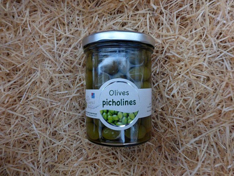Olives picholines - Les Amandes et Olives du Mont Bousquet