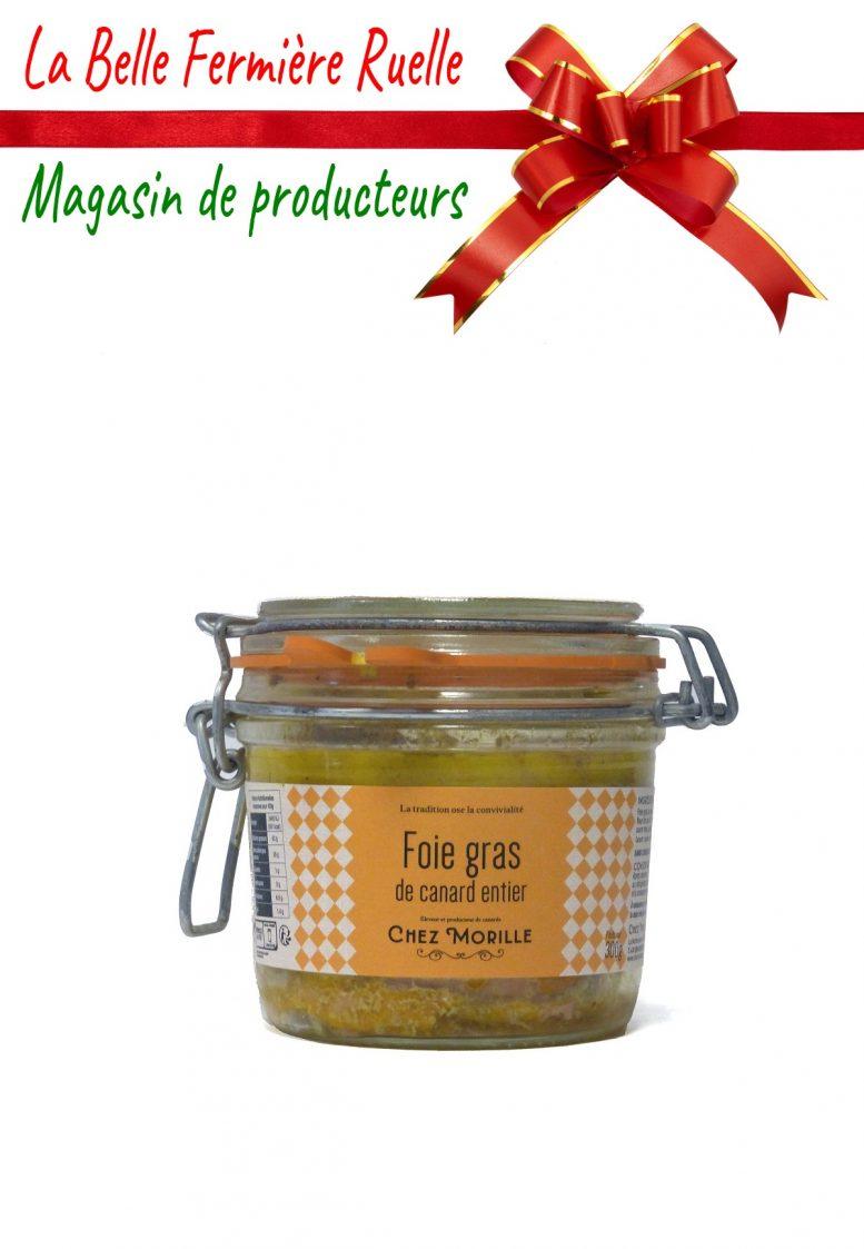 Foie gras de canard entier cuit