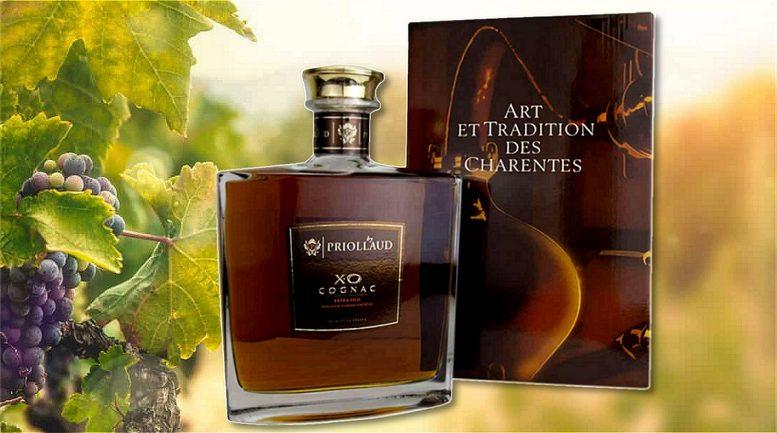 Cognac en carafe – XO Domaine Priollaud