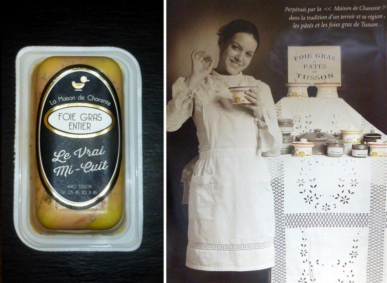 Foie gras entier de la Maison de Charente