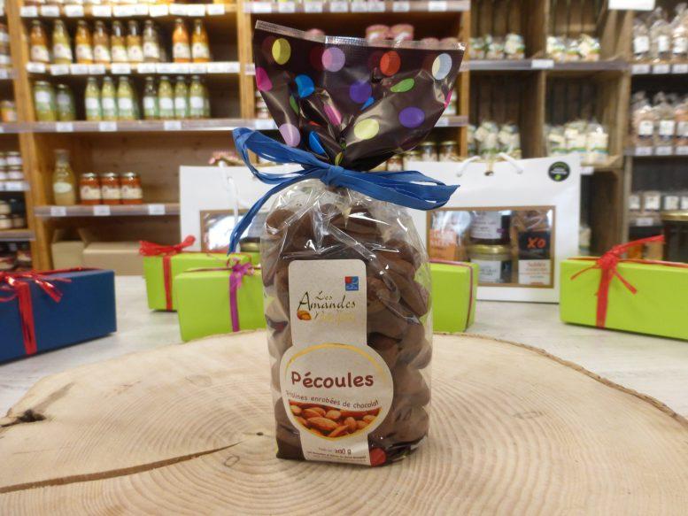 Pecoules enrobees de Chocolat