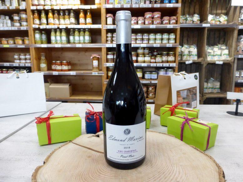 Pineau Noir Vin charentais Edmond Maxime