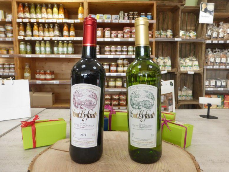 Tout Ly Faut Blaye cote de Bordeaux