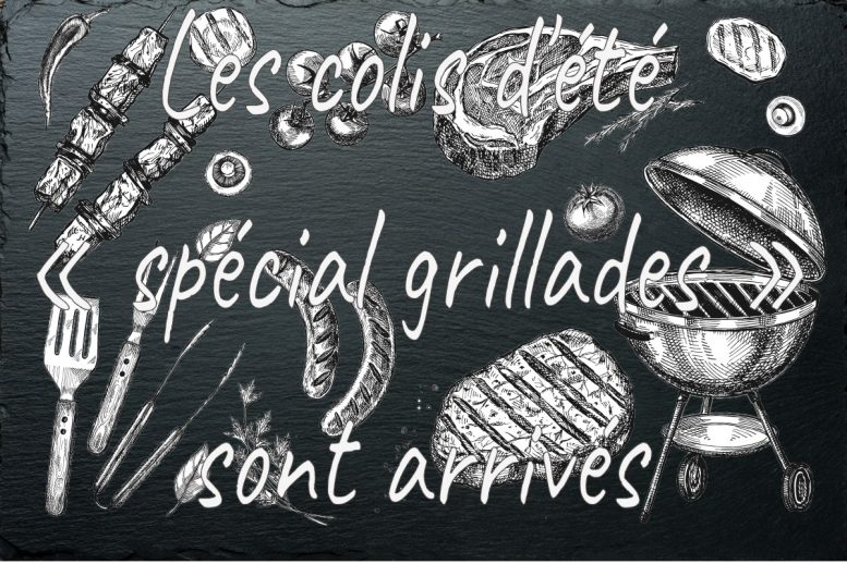 A Ruelle: Les colis de l'été « spécial grillades »