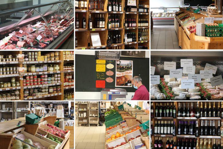Magasin de producteurs en Charente La Belle Fermiere