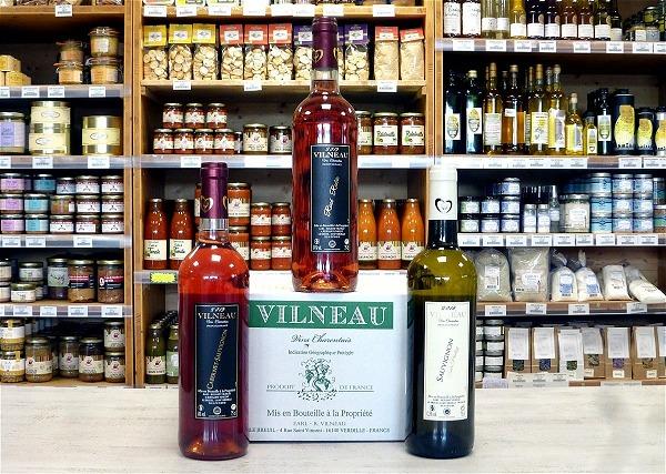 Promo vins Roland Vilneau
