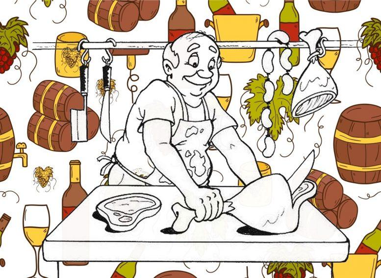 Promos paniers boucherie de producteurs et vins a Ruelle